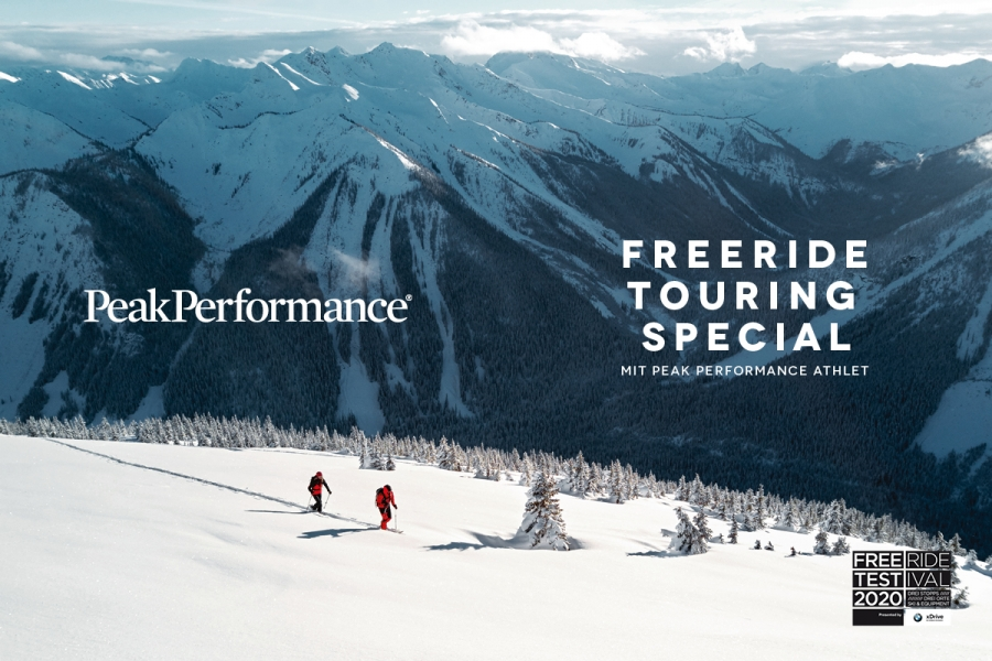Beginner freeride lesson with the Freeride Skischool Saalbach