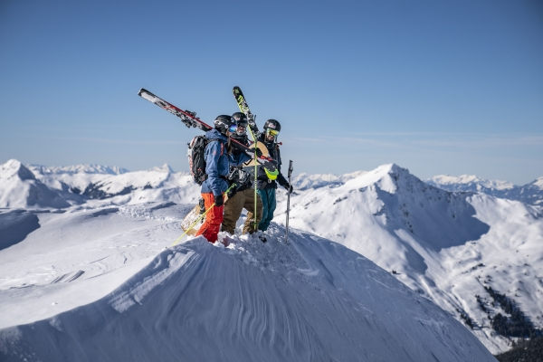 All-Inclusive beim BMW Mountains Freeride-Camp